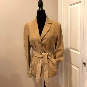 Maxmara suede jacket